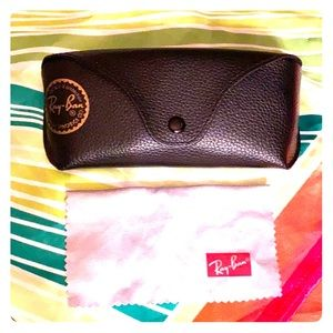 RAY-BAN LARGE SUNGLASS CASE NEVER USED⭐️⭐️⭐️⭐️⭐️